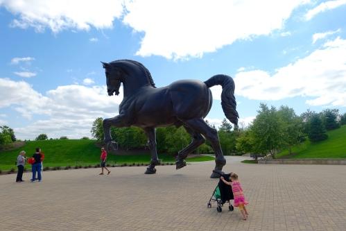 da Vinci's Horse Meijer Garden