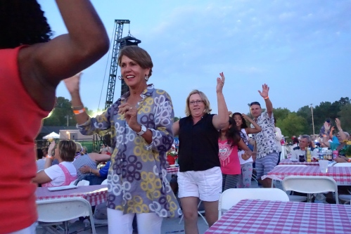 Dancing in the aisles at Grand Rapids Symphony's Picnic Pops