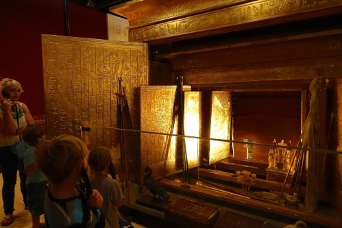 Discovering King Tut Exibition