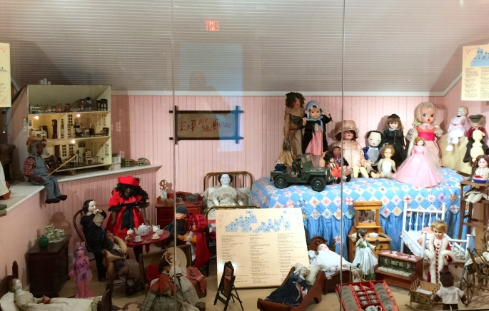 Display of dolls at the Carousel at Grand Rapids Public Museum 2