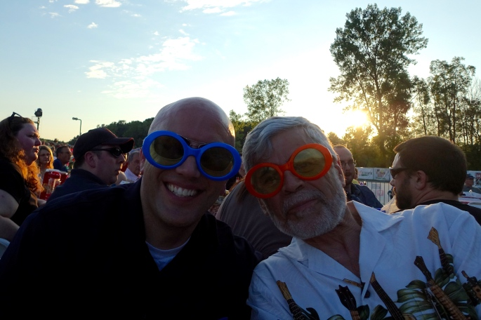 Elton John Glasses at the Grand Rapids Symphony Picnic Pops