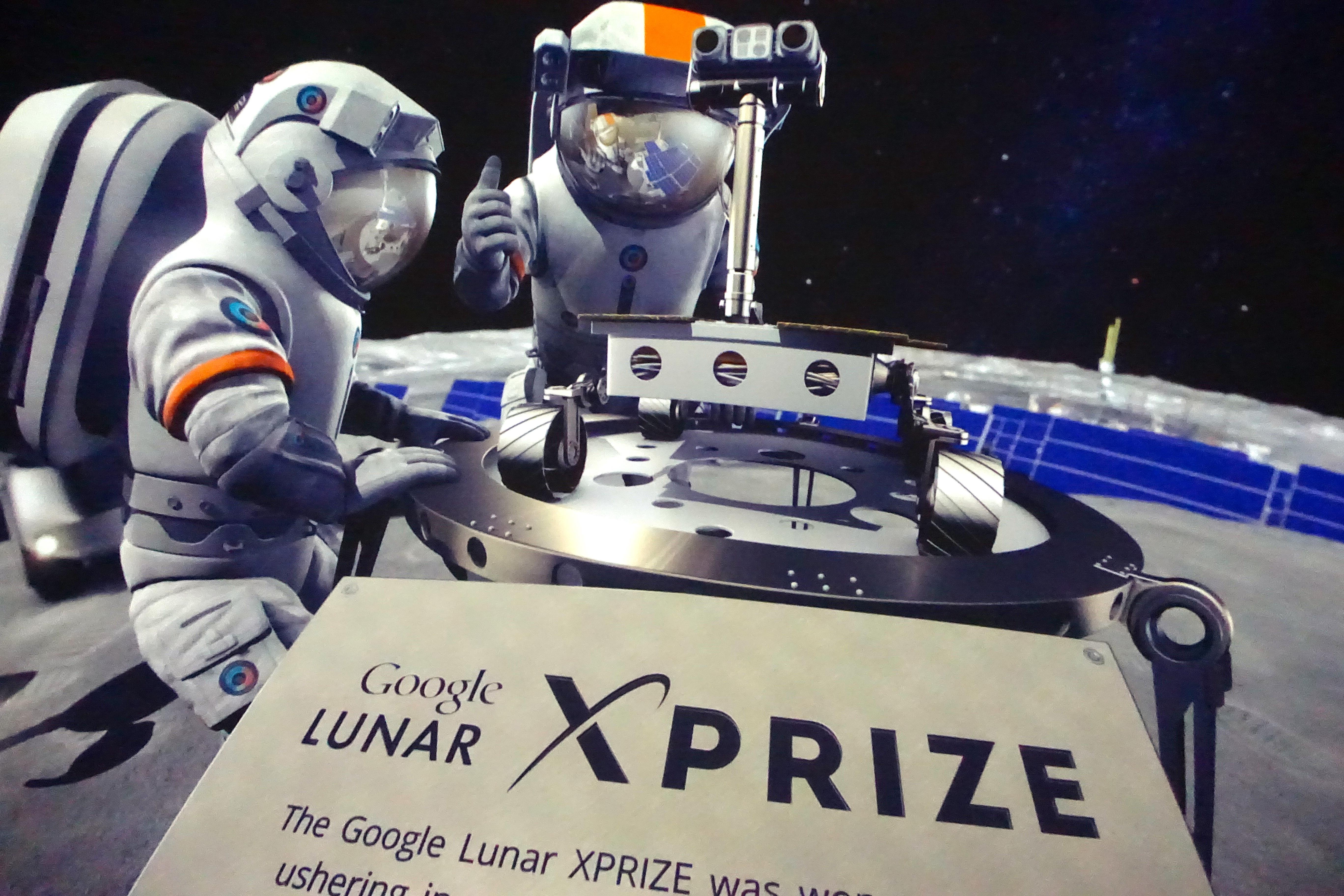 Google's Lunar X Prize
