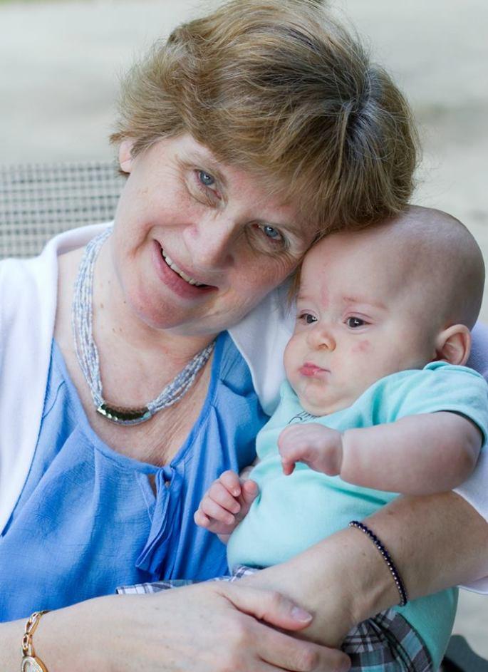Grandma and Baby