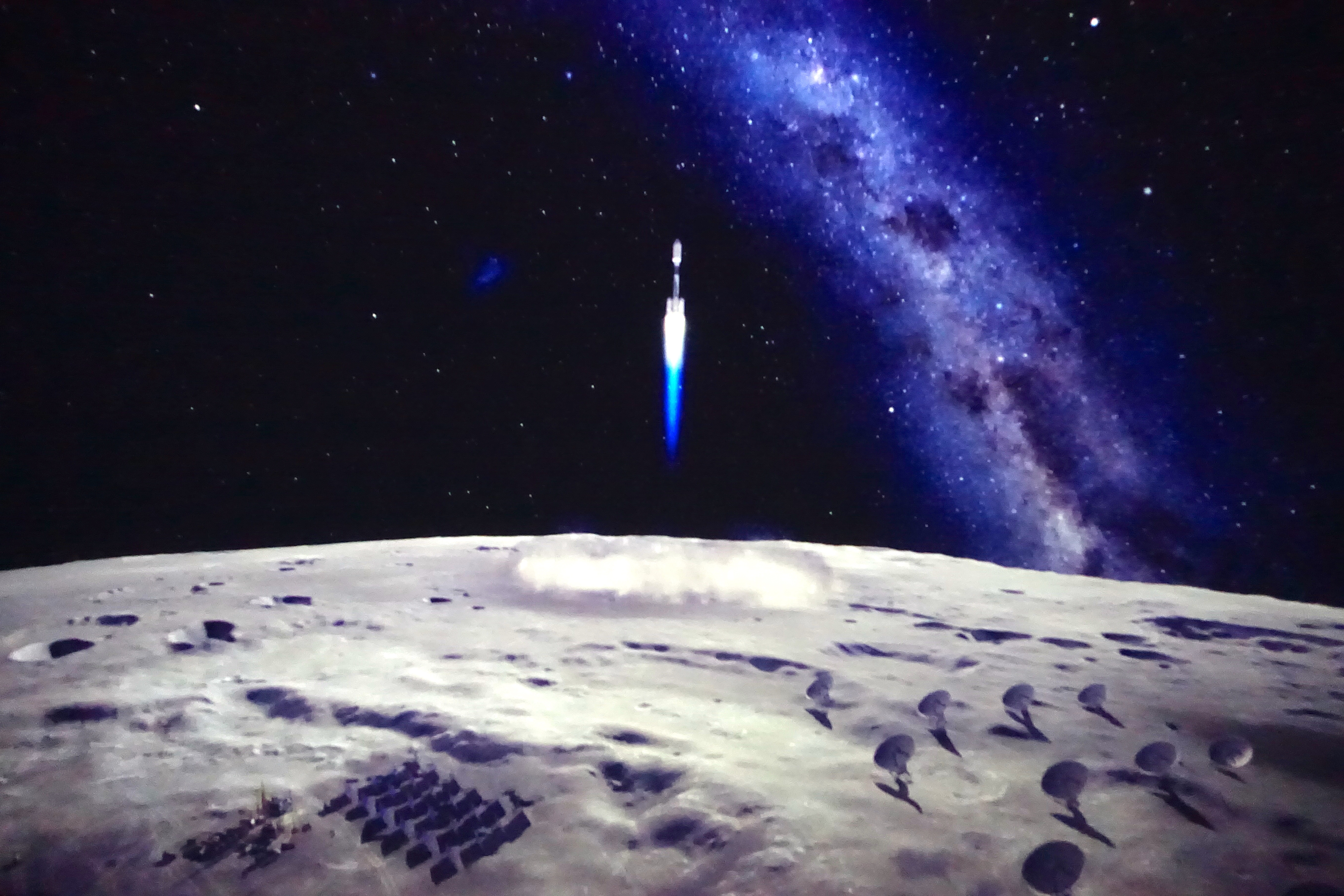 Imagining the future on the moon
