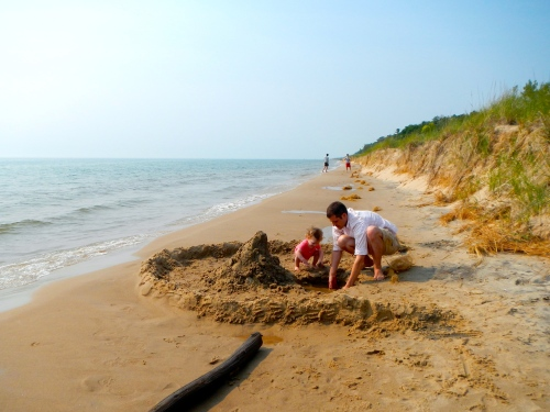 Sandcastle at Hoffmaster State Park