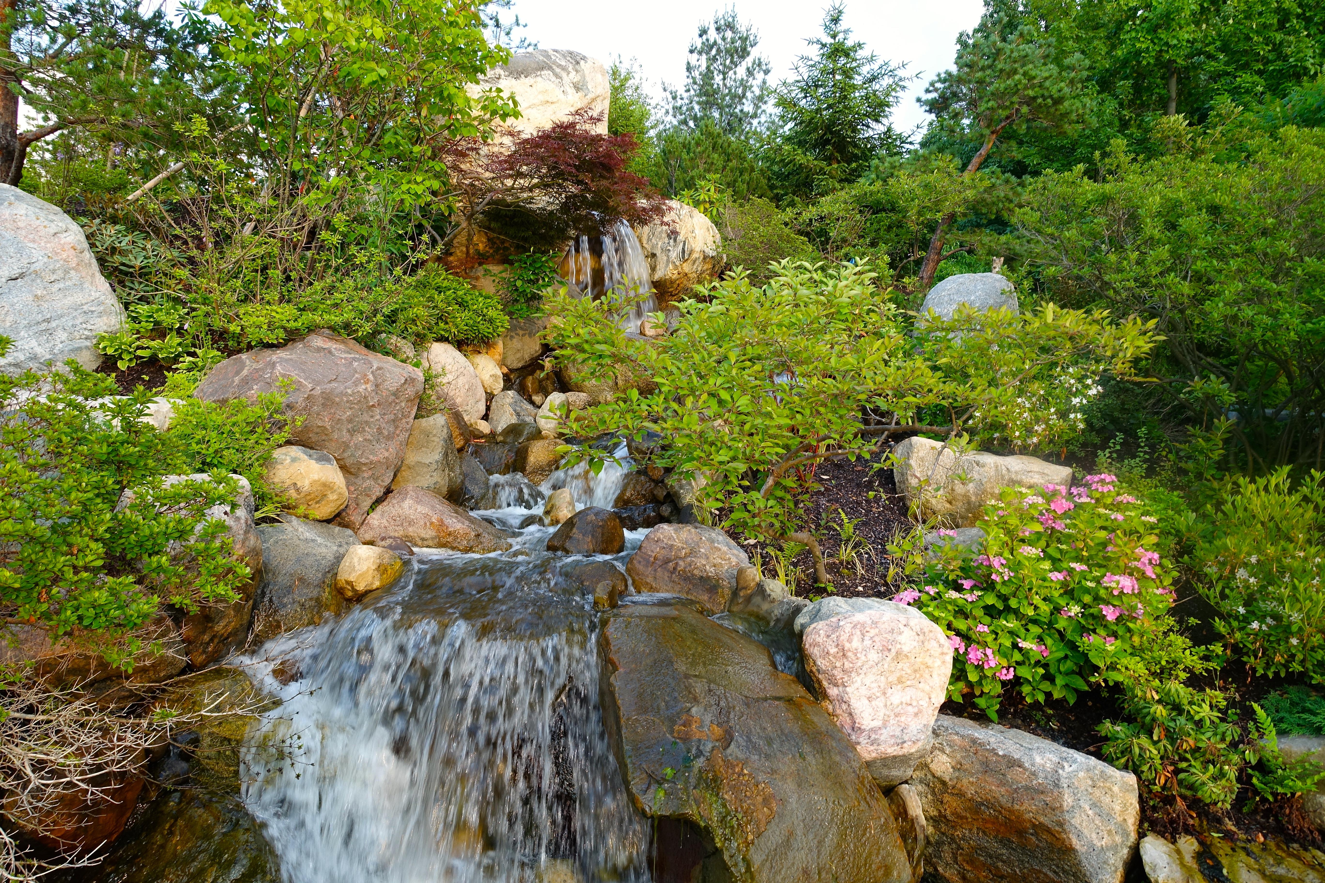 Waterfalls at Meijer Japanese Tea Garden