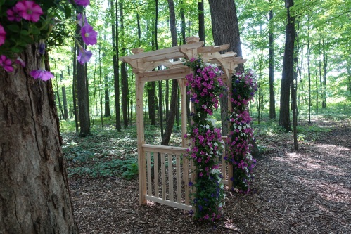 Wedding Chapel in Woods