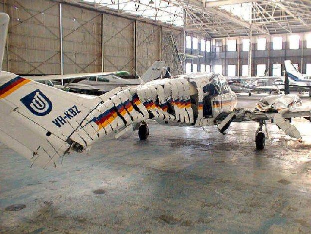 Airplane crashes 3