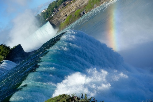 American and Horseshoe Fals at Niagara Falls