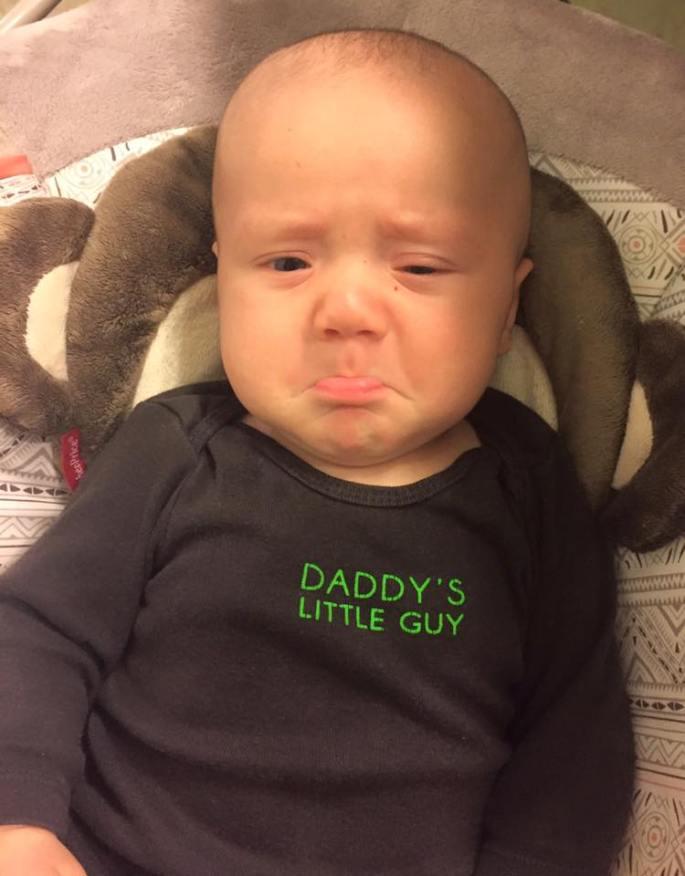 Big Lip. Sad Boy!