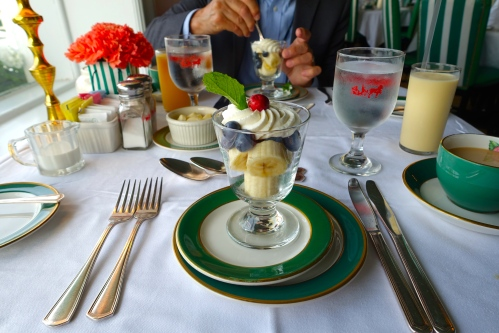 Breakfast at the Grand Hotel on Mackinac Island