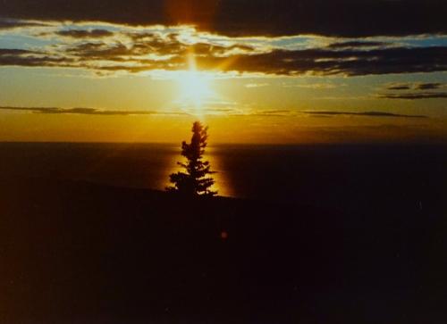 Brockway Mt. Sunset