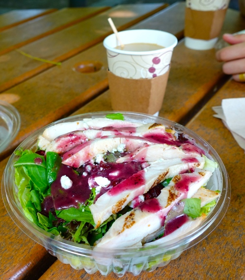 Chicken Salad with Concord Grape Dressing