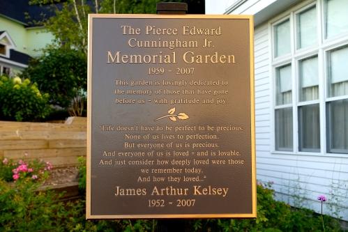 Cunningham Memorial Garden at The Grand Hotel on Mackinac Island