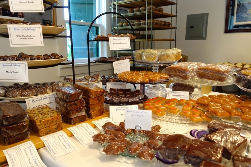 Delectable treats at the Jampot Bakery