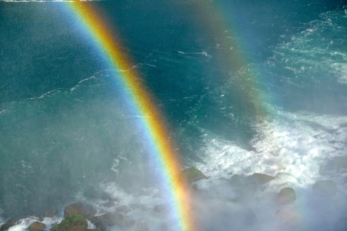 Double Rainbow at Niagara Falls