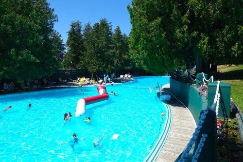 Esther Williams Swimming Pool at The Grand Hotel on Mackinac Island