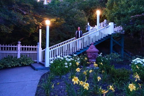 Evening Stroll at the Grand Hotel on Mackinac Island