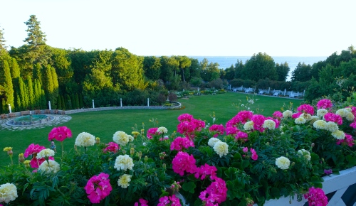 Front Lawn at The Grand Hotel on Mackinac Island