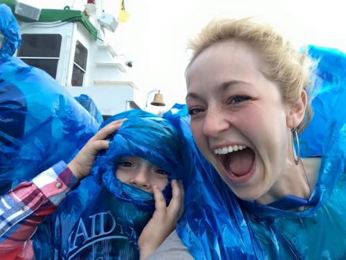 Fun on The Maid of the Mist.