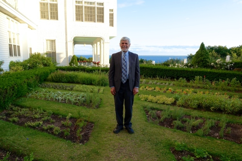 Gardens at The Grand Hotel on Mackinac Island