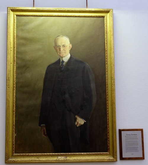George Eastman. Painting