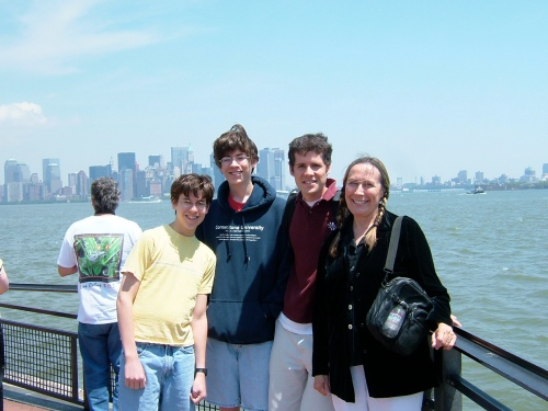 Going to the Statue of Liberty