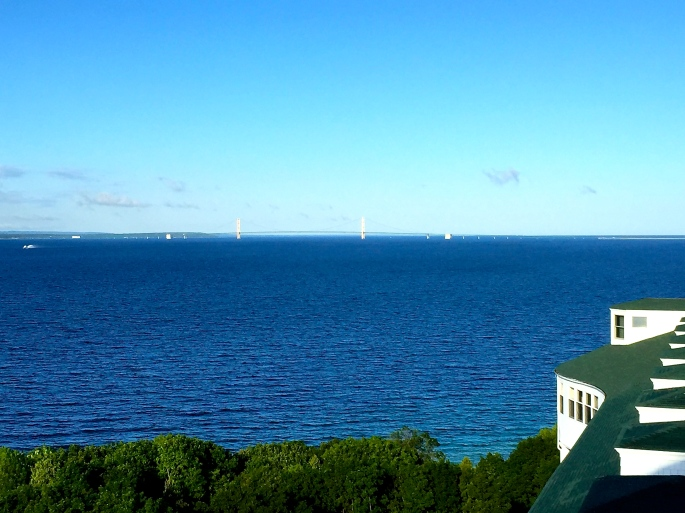 Great Expanse of Mackinac Bridge