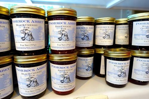 Jars of Jam at the Jampot