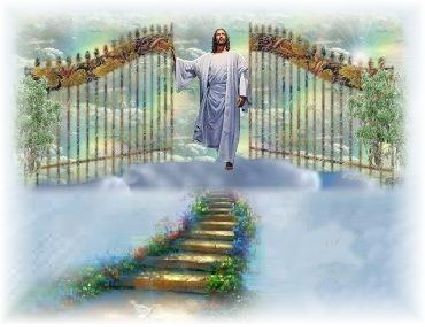 Jesus at the Gate of Heaven