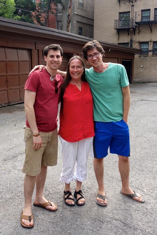 Joel, Mom, Stephen