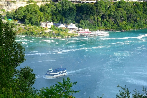 Maid of the Mist at Niagara Falls