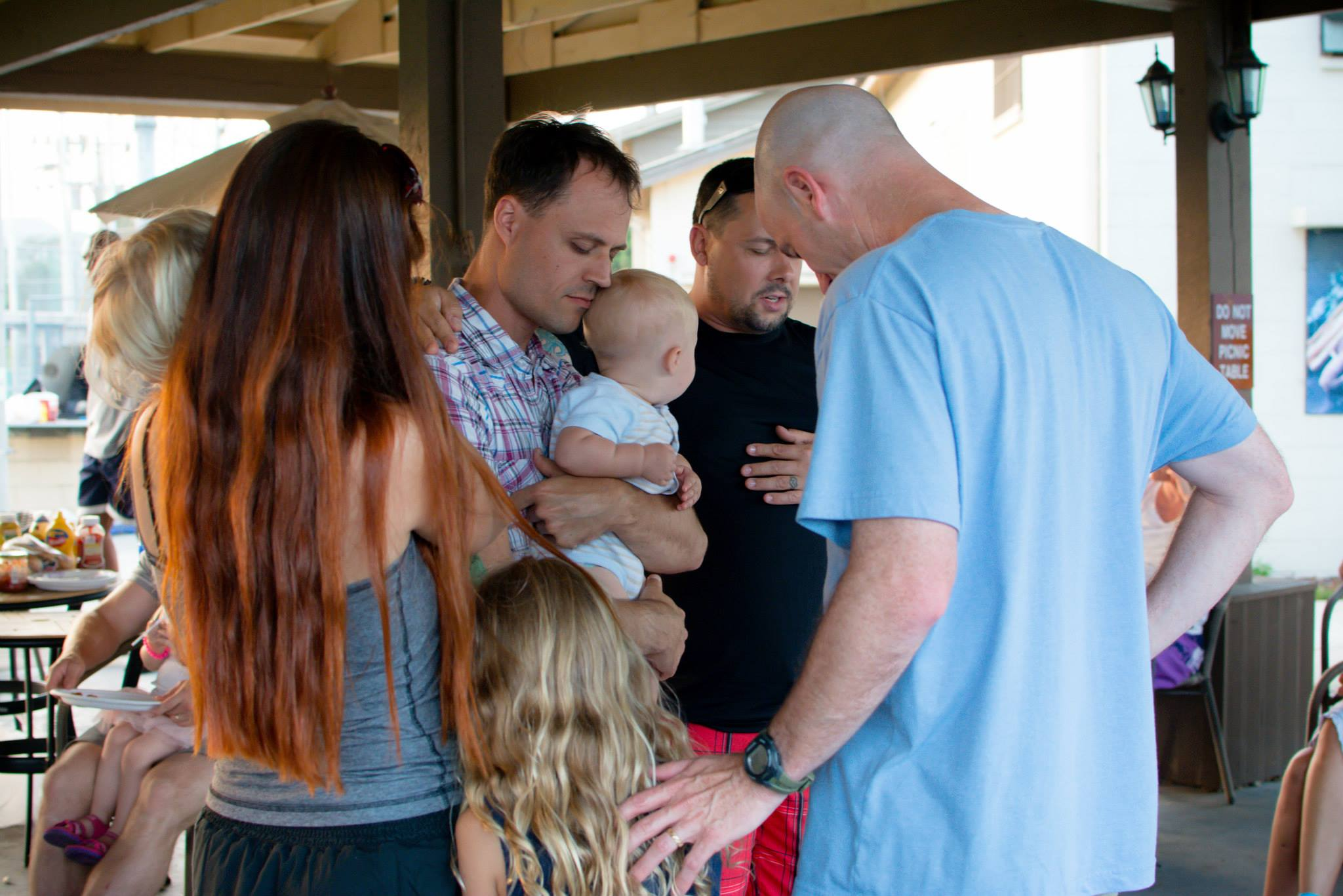 Praying for Michael's family