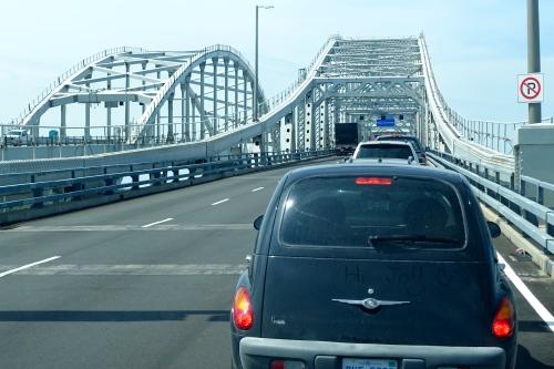 the Blue Water Bridge.