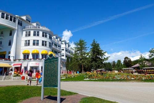 The Grand Hotel. Mackinac Island