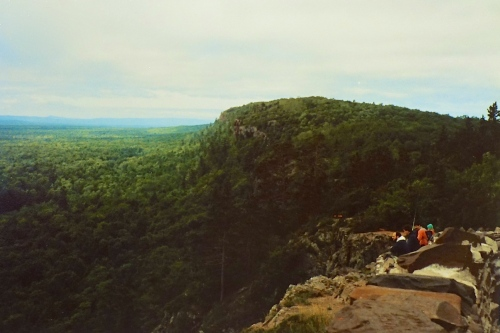 View from Porcupine Mts.