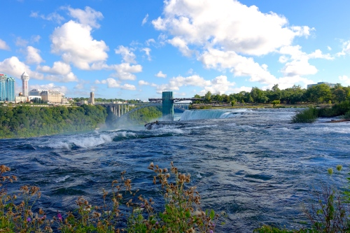 View of Niagara Falls from Luna Island
