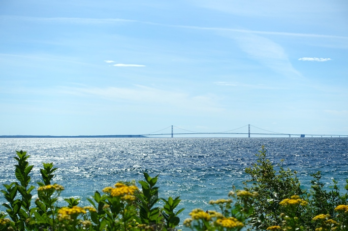Yarrow and Mackinac Bridge