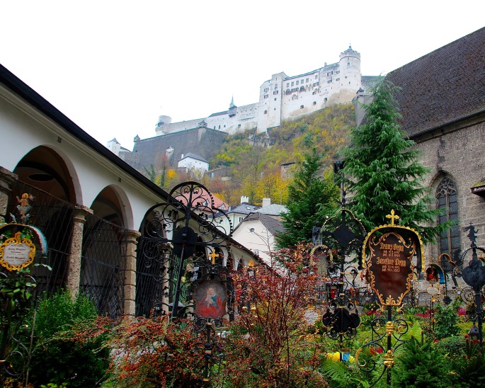 Abbey where VonTrapps hid. Salzburg