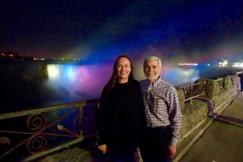 Alan and Kathi at Niagara Falls