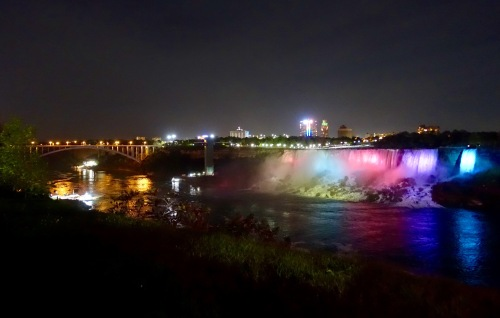 American Falls and Rainbow Bridge