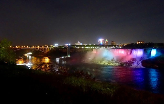American Falls and Rainbow Bridge