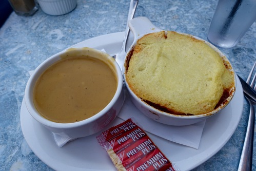 Butternut Soup and Shepherd's Pie