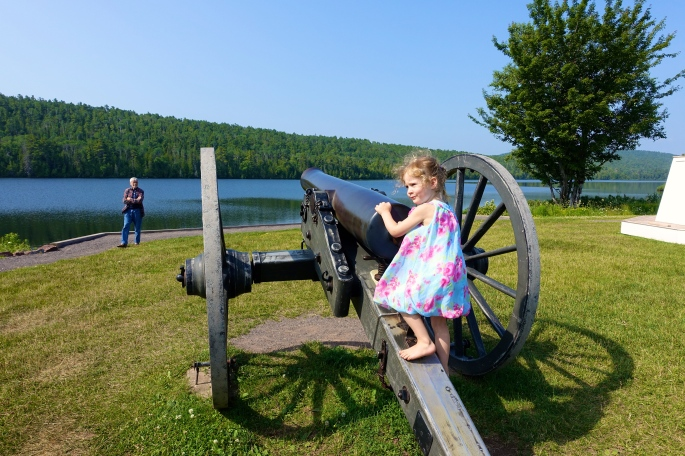 Cannon at Fort Wilkins