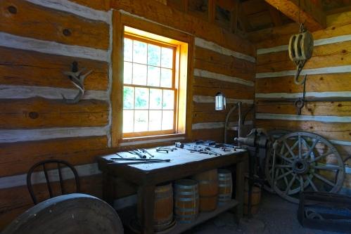 Carpenter's Shop at Fort Wilkins