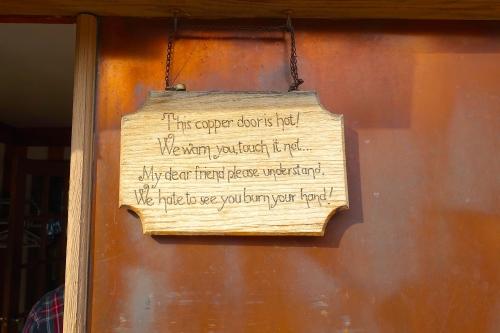 Copper Door at Harbor Haus
