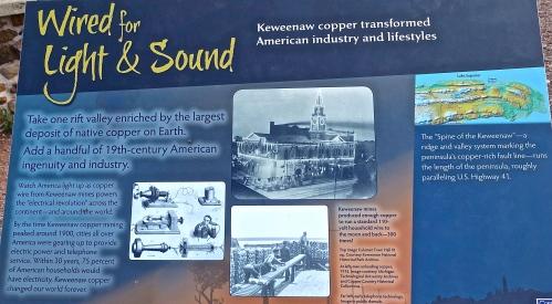 Copper MIning in the Keweenaw Peninsula