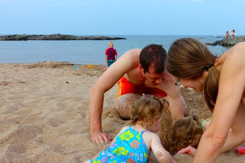 Family Dig at McCarty's Cove