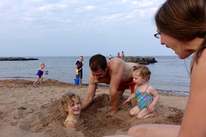 Getting Sandy Rocks at McCarty's Cove 2
