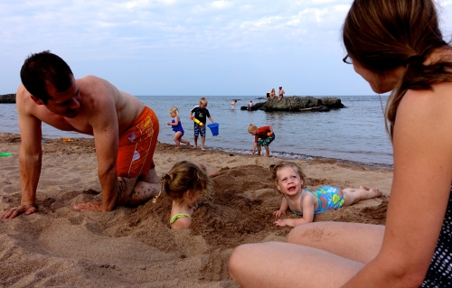 Getting Sandy Rocks at McCarty's Cove 3